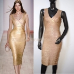 HV074 / Preorder Herve Legr Dress Style พรีออเดอร์เดรสไตล์ Hervr Leger เดรสผ้ายืด ใส่สวยเน้นรูปร่าง