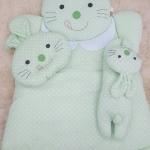 ที่นอนเด็กอ่อน กระต่ายลายจุดสีเขียว