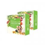 CTP Fiberry Detox (ดีท๊อก) ( 2 กล่อง ) ฟรี EMS