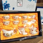 ชุดกาน้ำชาเซรามิก ชุด 11 ชิ้น