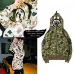 Jacket Hoodie BAPE® x Undefeated Camo 17ss -ระบุไซต์-