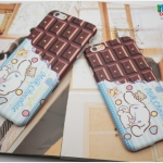 iPhone 6, 6s - เคส TPU ลาย Cinnamoroll Milk Chocolate