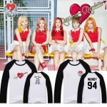 เสื้อแขนยาวสีดำ Red Velvet Russian Roulette Member -ระบุสมาชิก/ไซต์-