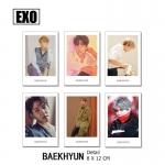 Polaroid Set EXO - Baekhyun (7pc)
