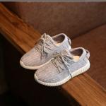 รองเท้าเด็ก สีเทา แพ็ค 5 คู่ ไซส์ 21-22-23-24-25