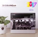 ปฏิทินตั้งโต๊ะ 2017 BIGBANG MADE