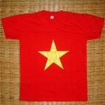 เสื้อยืด ลายธงชาติเวียดนาม