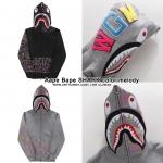 Jacket Hoodie Aape Bape SHARK color melody-ระบุสี/ไซต์-