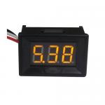 "DC volt meter 0.36"" 0-100V โวลต์มิเตอร์ 0-100V ขนาด 0.36 นิ้ว สีส้ม"