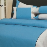 ผ้าปูที่นอน ทูโทน รัดมุม10นิ้ว ผ้าCVC250เส้นด้าย มี7สี 5/ 6 ฟุต 1ชิ้น ผืนละ 500 บาท ส่ง 20ผืน
