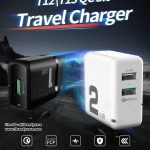 ROCK T12 / T13 QC 3.0 Travel Charger หัวชาร์จ ชาร์จไว งานดี แท้