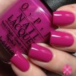 OPI - The Berry Thought of You สีชมพูเบอรรี่แบบพิิ้งกี้ โทนสีสวยน่ารักและดูเด่น