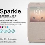 Samsung Galaxy S7 - เคสฝาพับ Nillkin Sparkle leather case แท้
