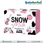 Snow Milk by EVALY's สโนว์มิลค์ นมขาว SALE 60-80% ฟรีของแถมทุกรายการ