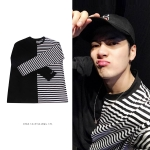 เสื้อแขนยาว BLACKWHITE stripes Sty.Jackson -ฟรีไซตื-