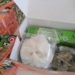 ชุด Snackbox ซาลาเปา-ขนมจีบ+น้ำผลไม้40%