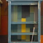 ตู้ติดผนัง สีฟ้า