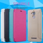 "ASUS ZenFone 3 Max (5.2"") - เคสฝาพับ Nillkin Sparkle leather case แท้"