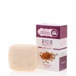 Rice Milk Soap สบู่น้ำนมข้าว เพิ่มความชุ่มชื้น ผิวเนียนนุ่ม ด้วยเม็ดสครับของจมูกข้าว