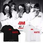 เสื้อยืด 4MINUTE 4M HATE -ระบุสี/ไซต์-