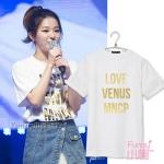 เสื้อยืด LOVE VENUS MNCP Sty.Red velvet -ระบุสี/ไซต์-