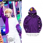 Jacket Hoodie BAPE SHAEK Camo Color Sty.JIMIN -ระบุไซต์/สี-