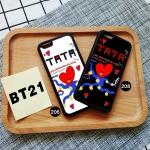 เคสโทรศัพท์ BT21 - TATA -ระบุรุ่น/หมายเลข-