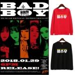 เสื้อแขนยาว Red Velvet BAD BOY -ระบุสี/ไซต์-
