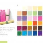กระดาษสา แผ่น แพ็ค 10 แผ่น สีพื้น