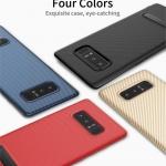 Samsung Note8 - เคส TPU ลายเคฟล่า Carbon พร้อมขาตั้ง TOTU DESIGN แท้