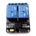 บอร์ด Relay 2 ช่อง 5 โวลต์ 10A 250V สำหรับ Arduino และ Microcontroller