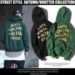 Hoodie ANTI SOCIAL SOCIAL CLUB REDEEMED 17ss -ระบุสี/ไซต์-