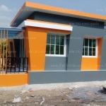 บ้านโมเดิร์นขนาด 6*5 เมตรพร้อมระเบียง2*3.5 เมตร ราคา 505,000 บาท