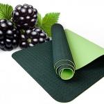จำหน่ายเสื่อโยคะ TPE ( Premium Yoga Mat) (6MM) แถม กระเป๋า+สายรัด