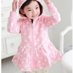 เสื้อคลุม สีชมพู แพ็ค 5ชุด ไซส์ 100-110-120-130-140