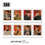 Polaroid Set EXO Universe (7pc)