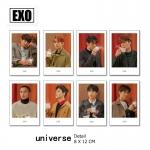Polaroid Set EXO Universe (7pc)
