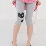 กางเกงเล็คกิ้ง L0184 สีเทา