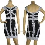 HV111 / Preorder Herve Leger Dress Style พรีออเดอร์เดรสไตล์ Hervr Leger เดรสผ้ายืด ใส่สวยเน้นรูปร่า
