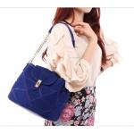 กระเป๋า AXIXI BAG สีน้ำเงิน สายโซ่และสายยาวถอดเปลี่ยนได้ (พรีออเดอร์)