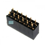 2.54mm pitch female double row female socket 2x6 pin