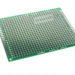 แผ่นปริ๊น PCB อเนกประสงค์แบบ 2 หน้าอย่างดี สีเขียว ขนาด 6x8 เซนติเมตร