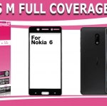 Nokia6 (เต็มจอ) - กระจกนิรภัย FULL FRAME Dapad แท้ (ดีที่สุดในตอนนี้!!)