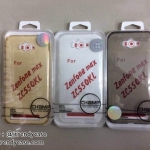 Asus Zenfone Max - เคสใสยาง TPU (ขาว, ดำ, ทอง)