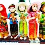 ตุ๊กตาชุดไทย เด็กสวัสดี 4 ภาค (Pre-Order คละแบบคละสี)