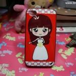 iPhone 4, 4S - เคส Face Idea ลาย ผู้หญิงชุดเจ้าสาว