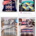 ชุดผ้านวม+ผ้าปูที่นอน เกรด A พิมพ์ลาย 6ฟุต 6ชิ้น เริ่มต้น 365 บาท