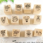Pre order DIY FLOWER & SMILE STAMP