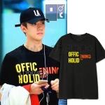 เสื้อยืด OFFCIAL Holiday x Happening Sty.SEHUN -ระบุไซต์