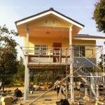 บ้านโมบายขนาด 6*6 เมตรระเบียง 3*3 เมตร ราคา 516,000 บาท